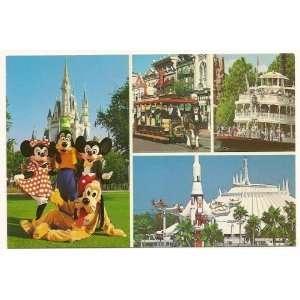 Walt Disney World Magic Kingdom 4x6 Postcard 0100 11801