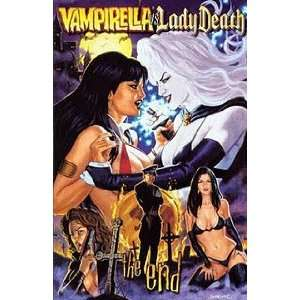 Vampirella Vs. Lady Death: The End. Dorian Cover