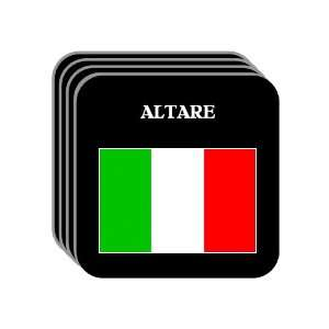 Italy   ALTARE Set of 4 Mini Mousepad Coasters