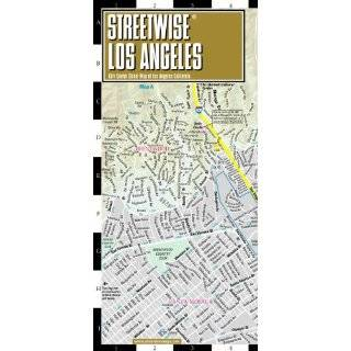 Streetwise Los Angeles Map   Laminated City Center Street Map of Los