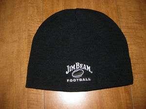 JIM BEAM knit football bourbon whiskey Kentucky hat