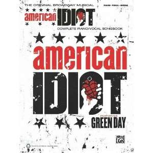 American Idiot, the Musical Piano/Vocal/Guitar [Sheet music] Tom