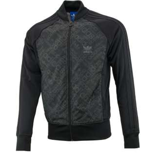 Adidas Originals Mens Superstar SPO Black Tracksuit Top Track Jacket