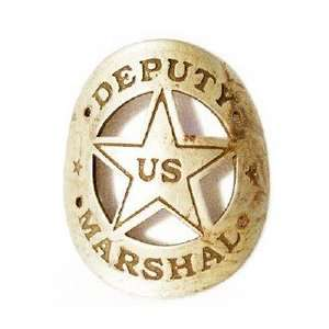 Curved US Deputy Marshal Badge: Everything Else