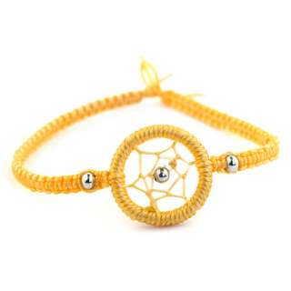 STACKABLE DREAMCATCHER FRIENDSHIP BRACELET WRISTBAND TWILIGHT WRAP 20