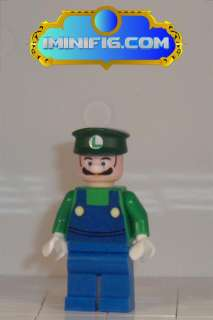 Custom LEGO Super Mario Luigi Waluigi and Wario #038A