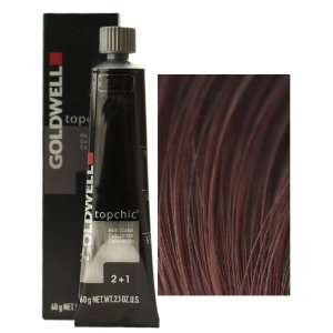 Goldwell Topchic Professional Hair Color (2.1 oz. tube)   6RV: Beauty