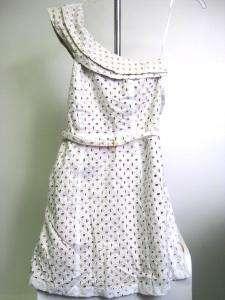MICHAEL Michael Kors Womens Asymmetrical Dress 6