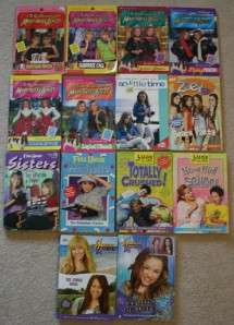 MARY KATE & ASHLEY / Lizzie McGuire /Zoey / Hannah Montana Lot of 14