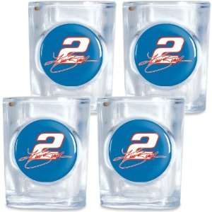 Wincraft Kurt Busch Shot Glass 4 Pack