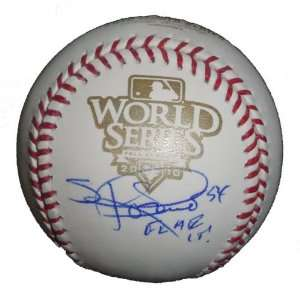 San Francisco Giants Sergio Romo Autographed 2010 World Series