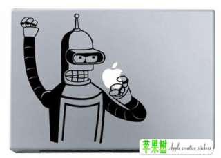 Bender Futurama humor apple MacBook pro Air Skin Art decal sticker  13