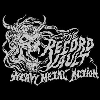 The Record Vault Shirt Thrash San Francisco Metal Punk