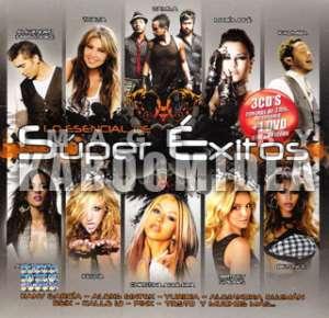 SUPER EXITOS CD DVD Thalia Camila Kalimba Alejandro Fernandez Calle 13