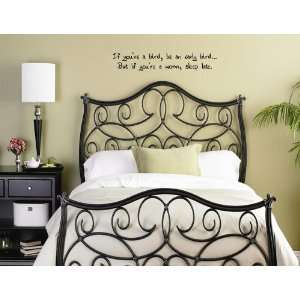 WORM, SLEEP LATE Vinyl wall quotes and sayings home art decor decal