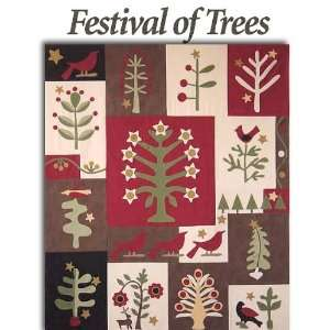 Festival of Trees Quilt Pattern: Arts, Crafts & Sewing