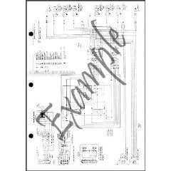 1981 Ford Fairmont Mercury Zephyr Wiring Diagram Original Ford Books