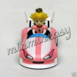 Japan Wii Nintendo Super Mario Kart Car Figure Peach $
