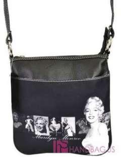 Licensed MARILYN MONROE Signature Cross Body Messenger Bag Handbag
