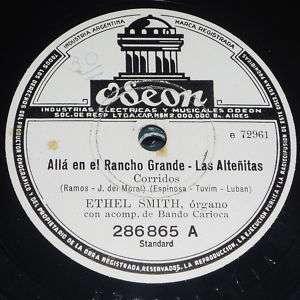 ETHEL SMITH ALLA EN EL RANCHO GRANDE LA BRISA Y YO