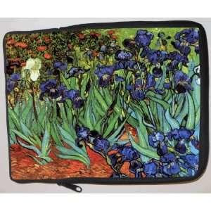 Van Gogh Art Irises Laptop Sleeve   Note Book sleeve