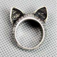 Brand New Lovely BJ Style Retro Cute Cat Ears Ring
