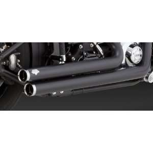 Vance & Hines Exhaust Big Shots Staggered For Harley Davidson Dyna