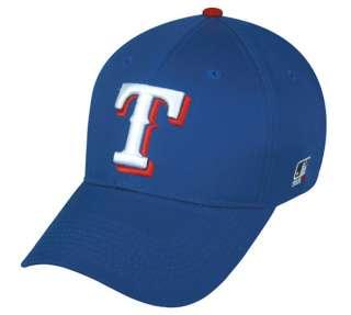 MLB velcro adjustable replica BASEBALL CAP hat (TEXAS RANGERS) youth