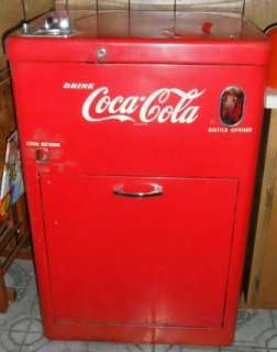 1956 Vendo A23E Coca Cola Bottle, Coke Vending Machine