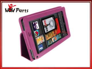 Folio PU Leather Case Cover w/Stand for  Kindle Fire 7