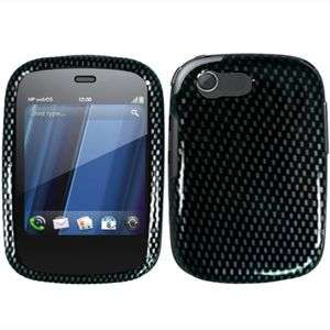 FIBER DESIGN HARD CASE SNAP ON COVER FOR HP VEER 4G PROTECTOR
