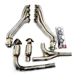 Header Manifold Exhaust 04 08 FORD F150 F 150 4WD Truck with 5.4L V8