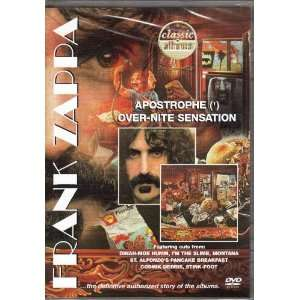 Over Nite Sensation (Classic Albums) Frank Zappa Movies & TV