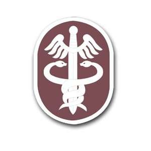 United States Army Medical Command Patch Decal Sticker 5.5
