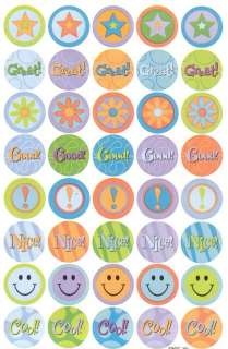 American Greetings Good Job Smiley Face Reward Stickers