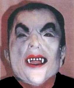 DRACULA VAMPIRE Rubber Latex Vinyl FULL MASK Adult