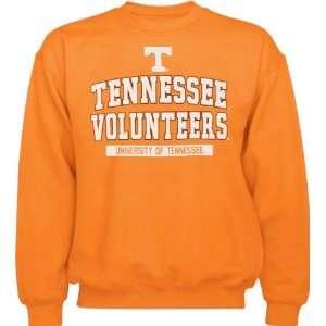 Tennessee Volunteers Light Orange Logo Crew Neck Fleece