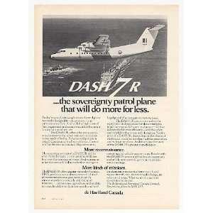 1975 de Havilland Canada Dash 7R Patrol Plane Photo Print