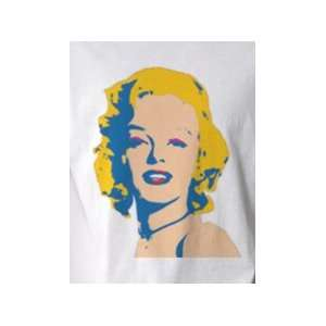 Marilyn Monroe 1   Pop Art Graphic T shirt (Mens Small