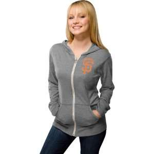 San Francisco Giants Womens Grey Ballpark Full Zip