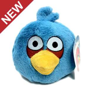 BLUE ANGRY BIRDS ROVIO LICENSED PLUSH TOY TAG