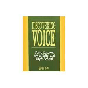 Voice Voice Lessons for Middle & High School [PB,2006]: Books