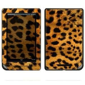 Nook Color Decal Sticker Skin   Cheetah