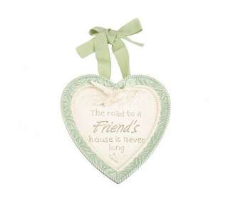 Friends Blessings Inspirational Heart Plates Valerie Parr Hill