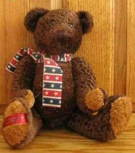 Dan Dee Brown Teddy Bear Collectors Choice 100th Anniv