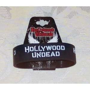 Licensed HOLLYWOOD UNDEAD Rubber Bracelet WRISTBAND