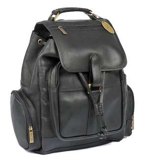 CLAIRECHASE UPTOWN LARGE CLASSIC LEATHER BACKPACK 844739029495
