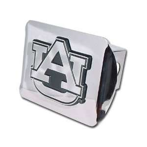 Auburn University Tigers Chrome Trailer Hitch Cover