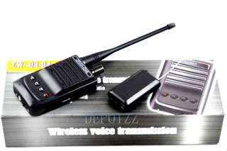 Professional voice Micro Wireless Audio Transmitter bug+Audio Receiver
