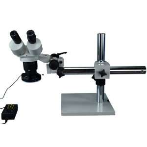 Stereo Microscope with 144 LED Ring Light with Subsection Control Mode